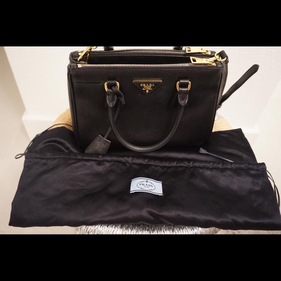 f332441eca2157 Prada Bags | Authentic Medium Black Bag With Tote Bag | Poshmark